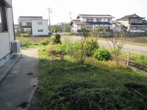 お庭を花壇に...2