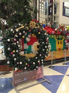 クリスマスリース大9