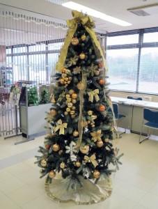 クリスマスツリー/ゴールド
