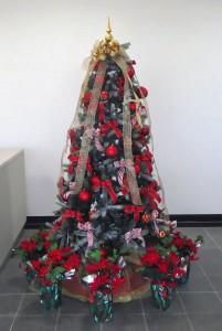 クリスマスツリー/レッド